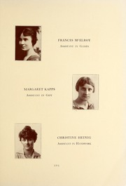 Page 15, 1917 Edition, National Louis University - National Yearbook (Chicago, IL) online yearbook collection