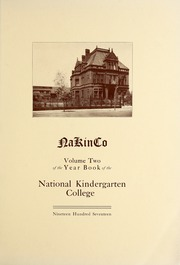 Page 5, 1917 Edition, National Louis University - National Yearbook (Chicago, IL) online yearbook collection