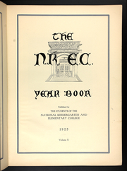 Page 17, 1925 Edition, National Louis University - National Yearbook (Chicago, IL) online yearbook collection