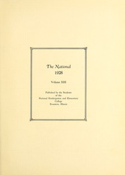 Page 9, 1928 Edition, National Louis University - National Yearbook (Chicago, IL) online yearbook collection