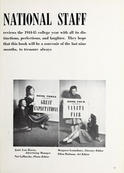Page 11, 1945 Edition, National Louis University - National Yearbook (Chicago, IL) online yearbook collection