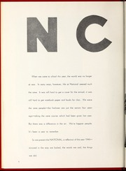 Page 10, 1946 Edition, National Louis University - National Yearbook (Chicago, IL) online yearbook collection