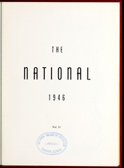 Page 7, 1946 Edition, National Louis University - National Yearbook (Chicago, IL) online yearbook collection