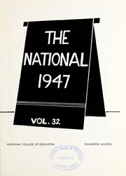 Page 5, 1947 Edition, National Louis University - National Yearbook (Chicago, IL) online yearbook collection