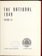 Page 5, 1949 Edition, National Louis University - National Yearbook (Chicago, IL) online yearbook collection