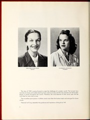 Page 8, 1949 Edition, National Louis University - National Yearbook (Chicago, IL) online yearbook collection