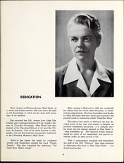 Page 9, 1952 Edition, National Louis University - National Yearbook (Chicago, IL) online yearbook collection