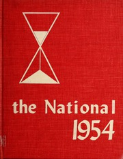 Page 1, 1954 Edition, National Louis University - National Yearbook (Chicago, IL) online yearbook collection