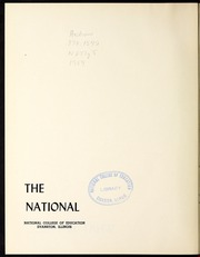 Page 6, 1954 Edition, National Louis University - National Yearbook (Chicago, IL) online yearbook collection