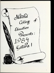 Page 5, 1984 Edition, National Louis University - National Yearbook (Chicago, IL) online yearbook collection
