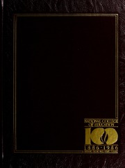 1986 Edition, National Louis University - National Yearbook (Chicago, IL)