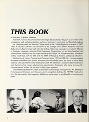 Page 6, 1988 Edition, National Louis University - National Yearbook (Chicago, IL) online yearbook collection