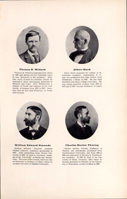 Page 16, 1902 Edition, Knox College - Gale Yearbook (Galesburg, IL) online yearbook collection