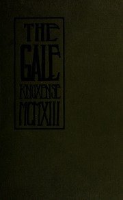 Page 1, 1913 Edition, Knox College - Gale Yearbook (Galesburg, IL) online yearbook collection