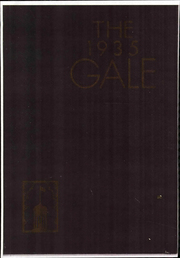 1934 Edition, Knox College - Gale Yearbook (Galesburg, IL)