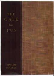 1936 Edition, Knox College - Gale Yearbook (Galesburg, IL)