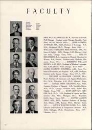 Page 16, 1941 Edition, Knox College - Gale Yearbook (Galesburg, IL) online yearbook collection