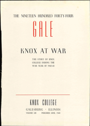 Page 11, 1944 Edition, Knox College - Gale Yearbook (Galesburg, IL) online yearbook collection