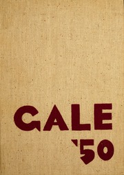 1950 Edition, Knox College - Gale Yearbook (Galesburg, IL)