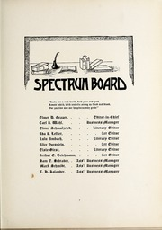 Page 13, 1911 Edition, North Central College - Spectrum Yearbook (Naperville, IL) online yearbook collection