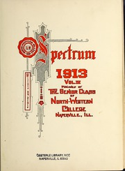 Page 5, 1913 Edition, North Central College - Spectrum Yearbook (Naperville, IL) online yearbook collection
