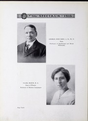 Page 14, 1916 Edition, North Central College - Spectrum Yearbook (Naperville, IL) online yearbook collection