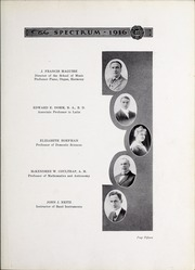 Page 17, 1916 Edition, North Central College - Spectrum Yearbook (Naperville, IL) online yearbook collection