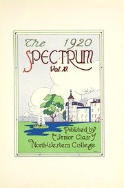 Page 7, 1920 Edition, North Central College - Spectrum Yearbook (Naperville, IL) online yearbook collection