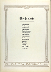 Page 13, 1924 Edition, North Central College - Spectrum Yearbook (Naperville, IL) online yearbook collection