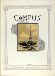 Page 16, 1924 Edition, North Central College - Spectrum Yearbook (Naperville, IL) online yearbook collection