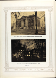 Page 17, 1924 Edition, North Central College - Spectrum Yearbook (Naperville, IL) online yearbook collection