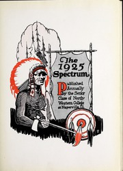 Page 9, 1925 Edition, North Central College - Spectrum Yearbook (Naperville, IL) online yearbook collection