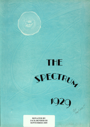 Page 12, 1929 Edition, North Central College - Spectrum Yearbook (Naperville, IL) online yearbook collection