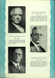 Page 13, 1929 Edition, North Central College - Spectrum Yearbook (Naperville, IL) online yearbook collection