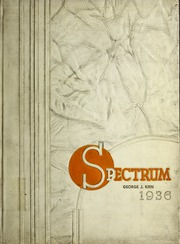 North Central College - Spectrum Yearbook (Naperville, IL) online yearbook collection, 1936 Edition, Page 1