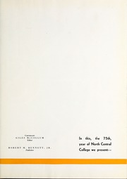 Page 5, 1936 Edition, North Central College - Spectrum Yearbook (Naperville, IL) online yearbook collection