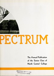 Page 7, 1936 Edition, North Central College - Spectrum Yearbook (Naperville, IL) online yearbook collection