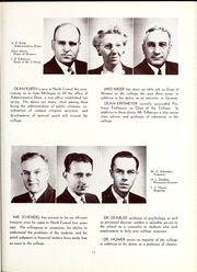 Page 21, 1945 Edition, North Central College - Spectrum Yearbook (Naperville, IL) online yearbook collection