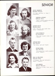 Page 34, 1945 Edition, North Central College - Spectrum Yearbook (Naperville, IL) online yearbook collection