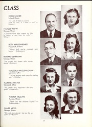 Page 35, 1945 Edition, North Central College - Spectrum Yearbook (Naperville, IL) online yearbook collection