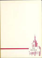 Page 5, 1945 Edition, North Central College - Spectrum Yearbook (Naperville, IL) online yearbook collection