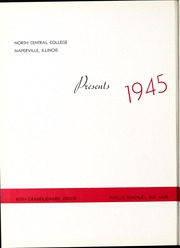 Page 6, 1945 Edition, North Central College - Spectrum Yearbook (Naperville, IL) online yearbook collection