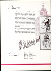Page 8, 1945 Edition, North Central College - Spectrum Yearbook (Naperville, IL) online yearbook collection