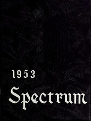 Page 1, 1953 Edition, North Central College - Spectrum Yearbook (Naperville, IL) online yearbook collection
