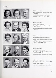 Page 17, 1953 Edition, North Central College - Spectrum Yearbook (Naperville, IL) online yearbook collection