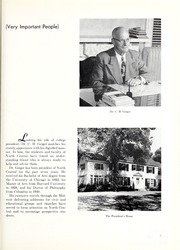 Page 7, 1954 Edition, North Central College - Spectrum Yearbook (Naperville, IL) online yearbook collection