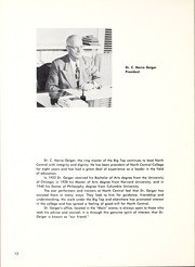 Page 16, 1955 Edition, North Central College - Spectrum Yearbook (Naperville, IL) online yearbook collection
