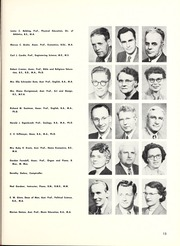 Page 17, 1955 Edition, North Central College - Spectrum Yearbook (Naperville, IL) online yearbook collection