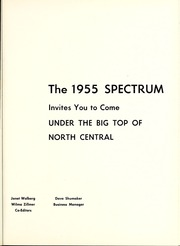 Page 5, 1955 Edition, North Central College - Spectrum Yearbook (Naperville, IL) online yearbook collection