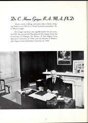 Page 12, 1957 Edition, North Central College - Spectrum Yearbook (Naperville, IL) online yearbook collection